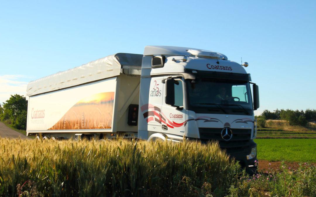 La compatibilidad de mercancías en el transporte de cereal